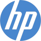 HP Letter Mark Type Logo