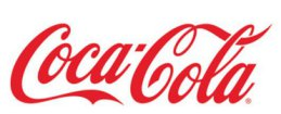 Coca-cola red color type logo