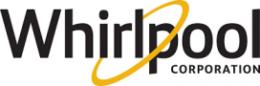 Wirlpool blue color type logo design